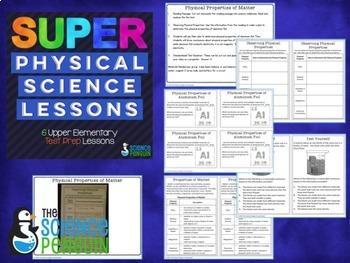 Science Test Prep Lessons BUNDLE