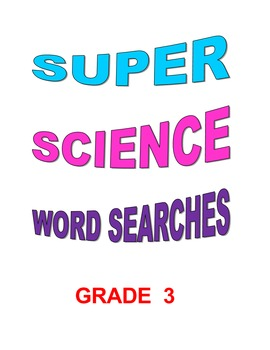 Super Science Word Search Puzzles Grade 3
