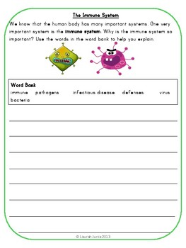 Super Science Writing Prompts: Life Science