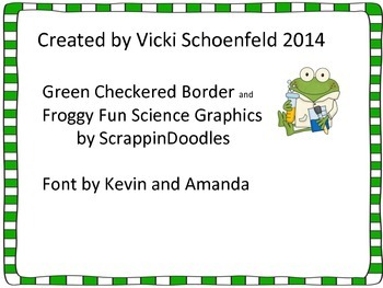 Science Award: Super Scientist Bookmarks with Frog Theme