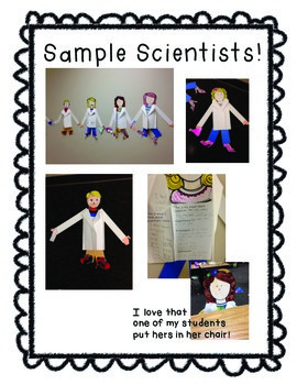 Scientist Craftivity: A Project Based Learning Product
