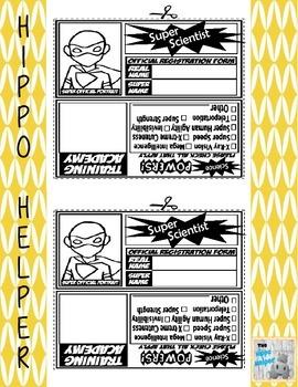 Super Scientist I.D. Cards