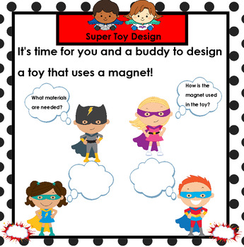 Super Scientists Discover Magnets:  SMARTBOARD Science Activities