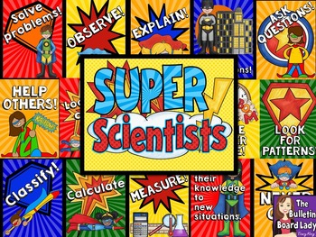 Super Scientists - Science Bulletin Board
