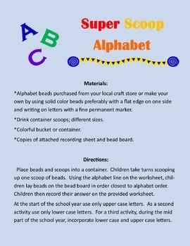 Super Scoop Alphabet