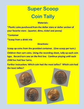 Super Scoop Coin Tally