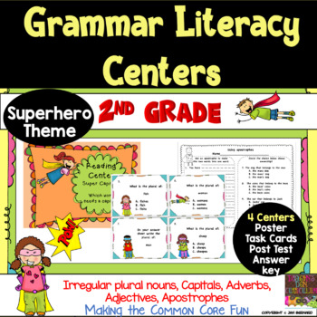 Super Second Grade Language Centers