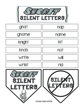Super Secret Spy Silent Letters Mission Pack
