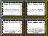 Super Secret Student Award!
