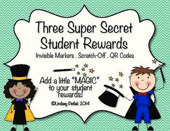 Super Secret Student Rewards: FREEBIE