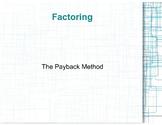 Super-Secret, Super-Effective way of factoring quadratic e