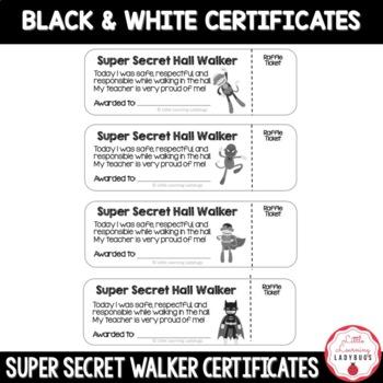 Super Secret Walker Certificates