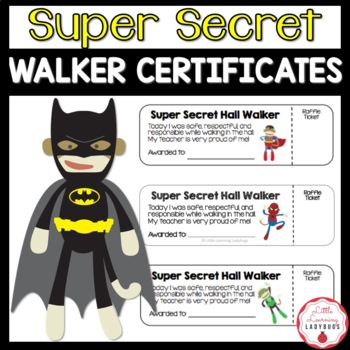 Super Secret Walker Certificates