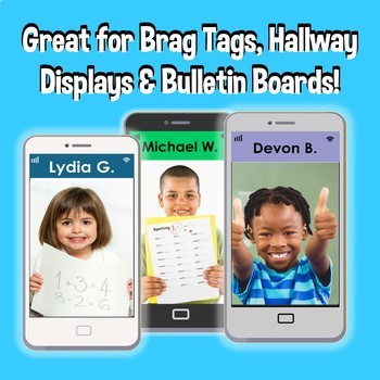 Super Selfie Bulletin Board and Brag Tag Decor
