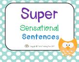 Super Sensational Sentences PowerPoint