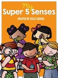 My 5 Senses - Kinder Science Printable