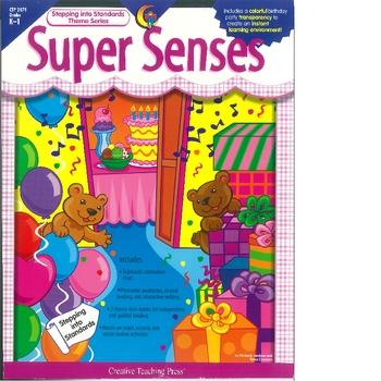 Super Senses a themeatic unit about the 5 Senses