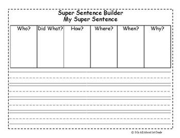 Super Sentence Builder