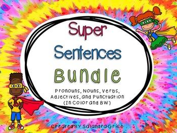 Super Sentence Bundle- Part 1 and 2