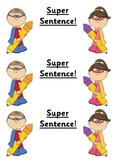 Super Sentence Display