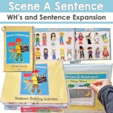 Scene a Sentence: Create a Picture Scene and Write