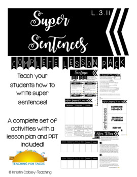 Super Sentence Lesson Pack