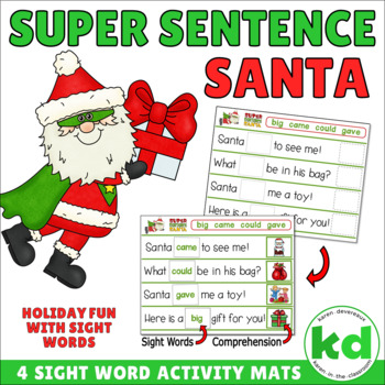 Super Sentence Santa - SIGHT WORDS