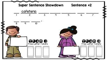 Super Sentence Showdown Game
