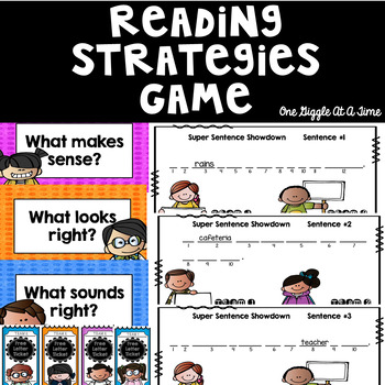 Reading Strategies Game