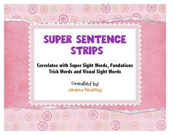 Super Sentence Strips