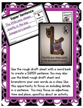 Super Sentences - ABC Book