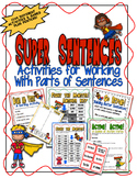 Super Sentences - Activities for Nouns and Verbs