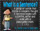 Super Sentences Poster Set Chalkboard with Melonheadz