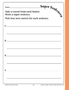 Super Sentences (File Folder Center)