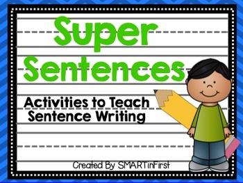 Super Sentences Packet