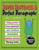 Super Sentences & Perfect Paragraphs complete writing program