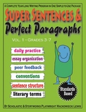 Super Sentences & Perfect Paragraphs complete writing program