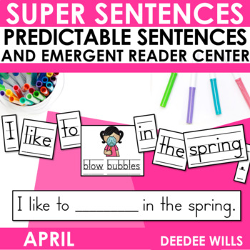 Predictable Sentences April Edition