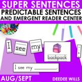 Predictable Sentences Aug/Sept Edition