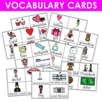 Predictable Sentences | Simple Sentences for February