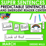 Predictable Sentences March Edition
