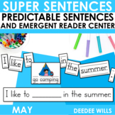 Predictable Sentences | Simple Sentences for May