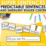 Predictable Sentences October Edition