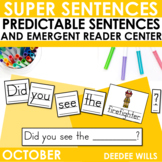 Predictable Sentences October Edition