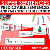 Predictable Sentences for Christmas