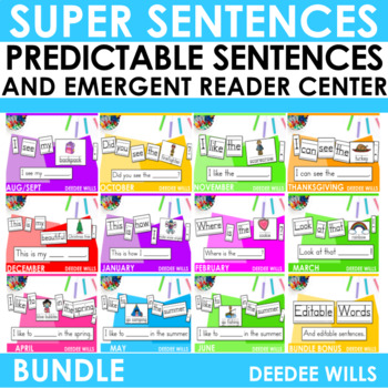 Predictable Sentences The COMPLETE Bundle