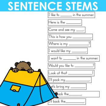 Predictable Sentences | Simple Sentences The COMPLETE Bundle