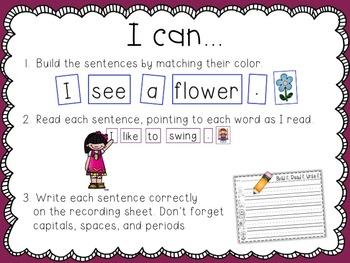 Super Sentences {capitals, spaces, and punctuation}
