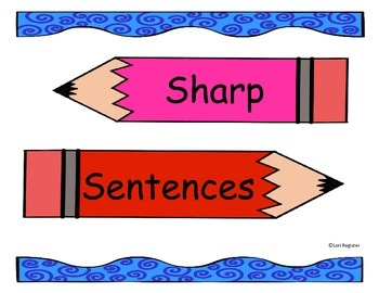 Super Sentences for Concept of Word & Sight Words