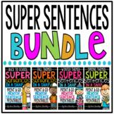 Super Sentences in a Snap: Mentor Sentence Printables BUNDLE